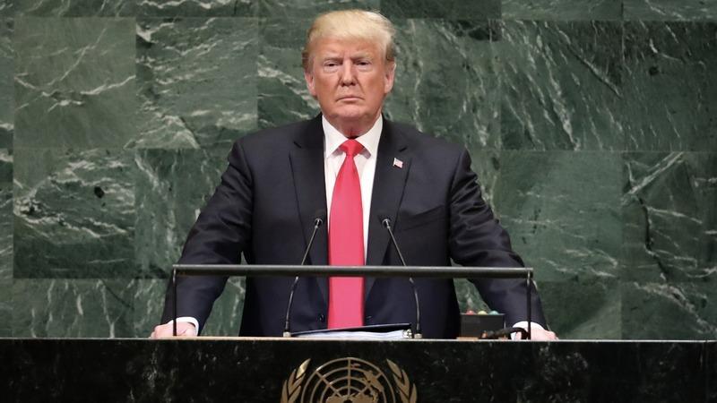 VERBATIM: Trump calls Iran a 'corrupt dictatorship' at U.N.