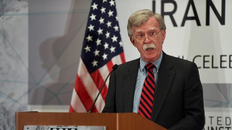 VERBATIM: Bolton warns Iran of 'hell to pay'