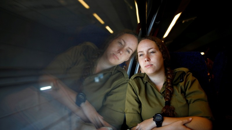 Not all aboard: Israeli train riles Palestinians