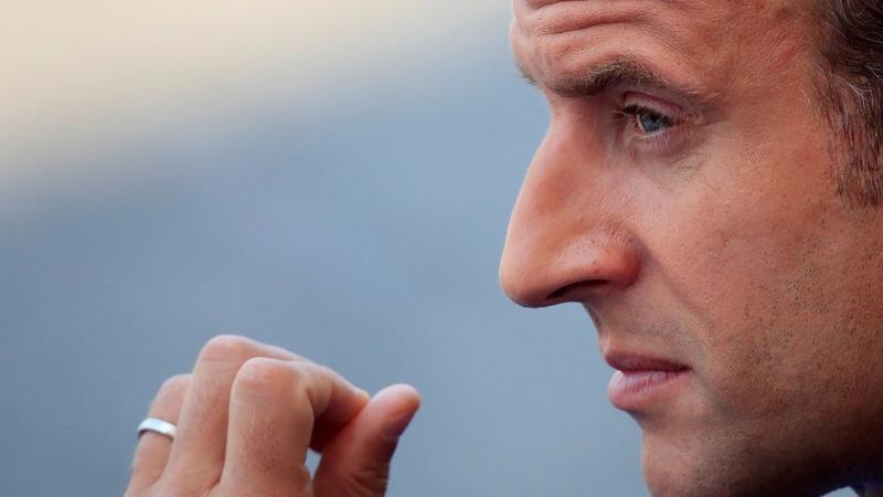 France's Macron suffers a popularity slump