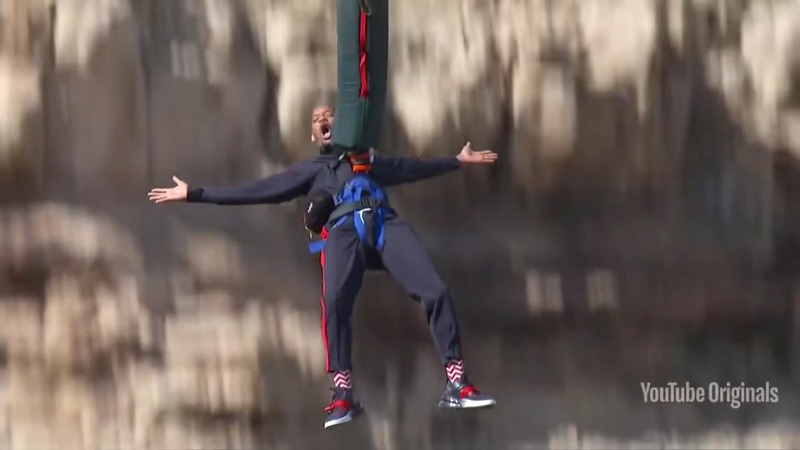 INSIGHT: Will Smith's 50th birthday bungee jump