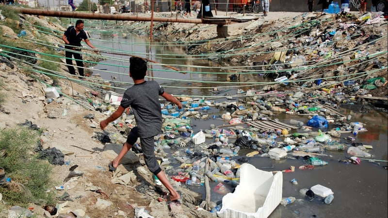 Iraq's 'Venice of the mideast' turns fetid