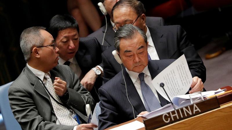 China demands U.S. stop 'unceasing criticism'