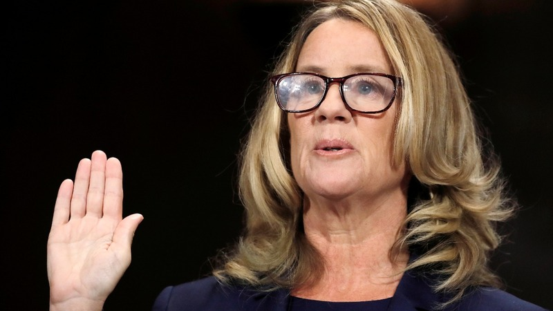 Ford accuses, Kavanaugh denies in stormy Senate hearing