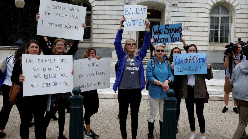 INSIGHT: Rallies for and against Kavanaugh
