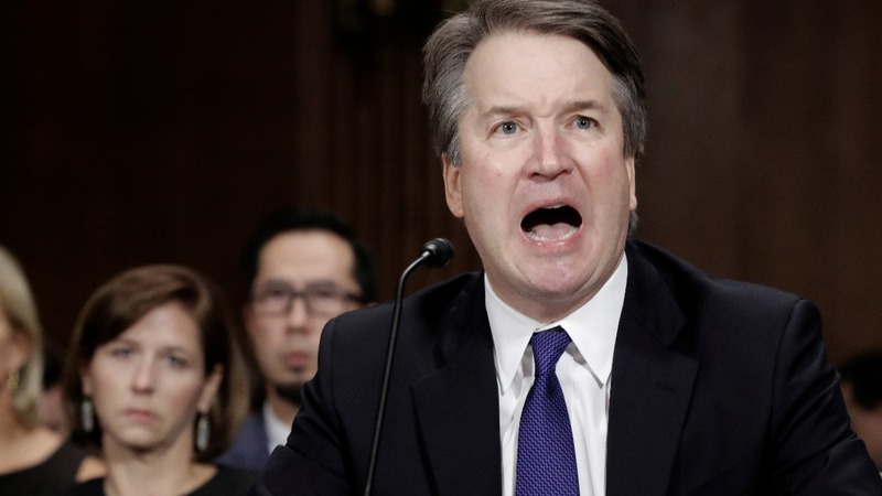 Kavanaugh says his family and name have been destroyed