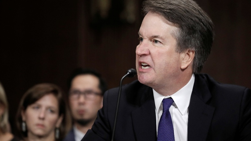 Kavanaugh pressed on why he hasn't called for FBI probe