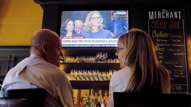 Dramatic Senate hearing captivates a nation