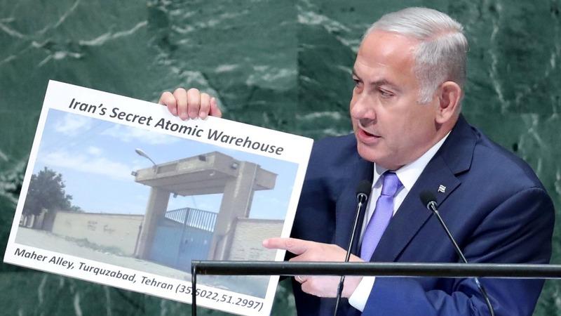 Netanyahu claims Iran has a secret nuclear site