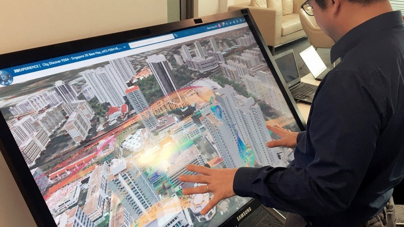 Singapore is creating a digital clone of itself