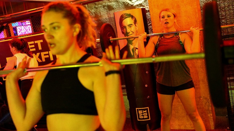 INSIGHT: Brits vent in 'BrexFit' gym class