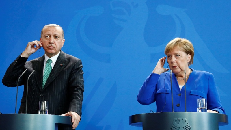 When Erdogan meets Merkel, it's complicated