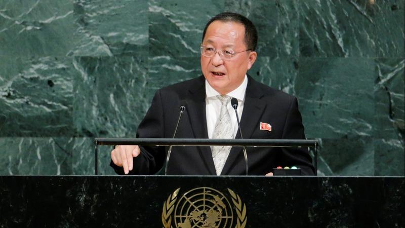 N. Korea says it won't disarm if it can't trust U.S.
