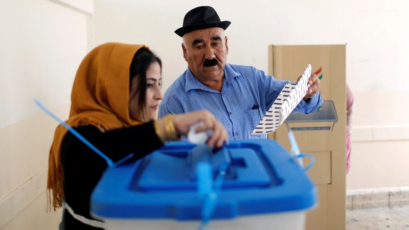 Iraq's Kurds vote in a parliamentary election