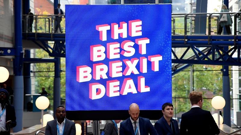 Tories get tough on Brexit talks