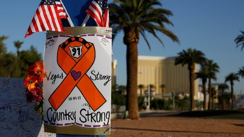 Vegas marks grim one-year anniversary