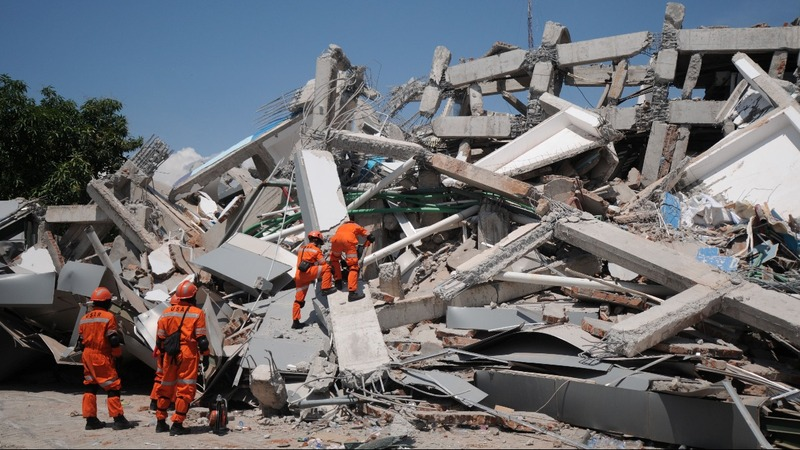 INSIGHT: Man rescued from rubble in Indonesia