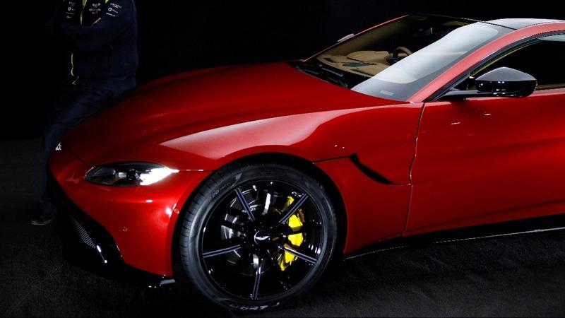 Aston Martin share sale revs up