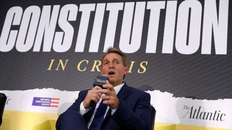 VERBATIM: Flake slams Kavanaugh's 'partisan' remarks