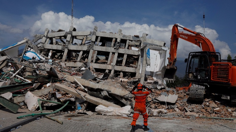 Indonesia quake toll soars above 1,400