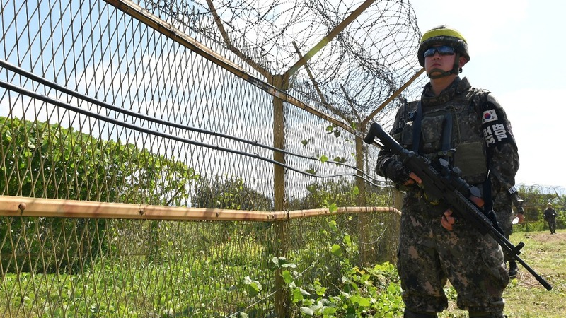 The Koreas work to clear DMZ of landmines