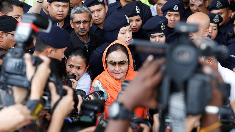 Rosmah Mansor charged with money laundering