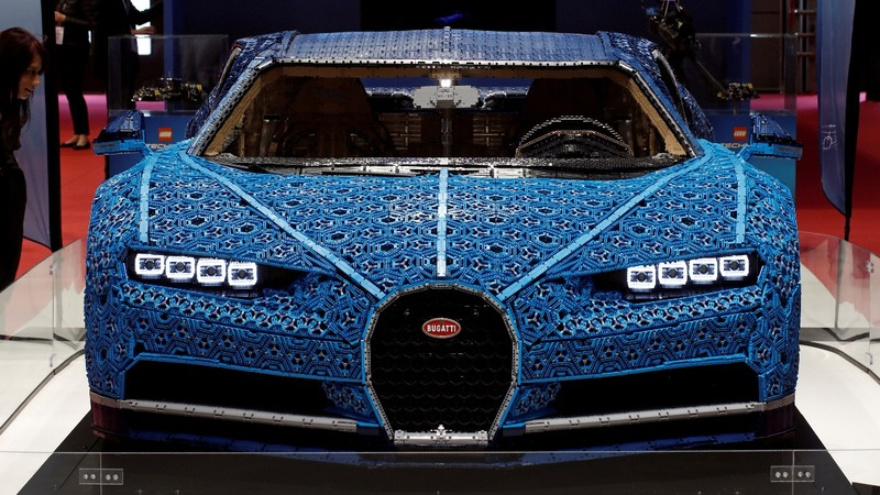 INSIGHT: Lego builds lifesize Bugatti replica