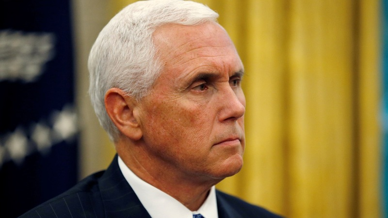 Pence claims China trying to undermine Trump