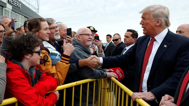 Battleground Republicans run silent on Trump