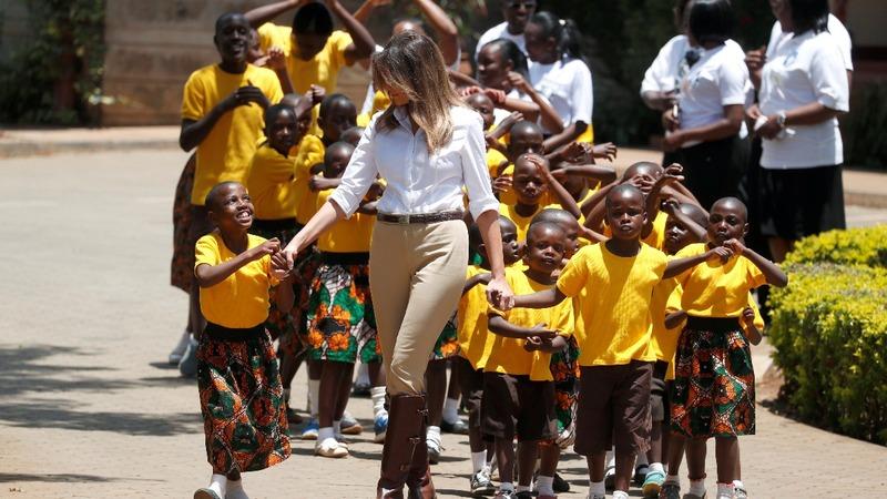 INSIGHT: Melania Trump visits Kenya