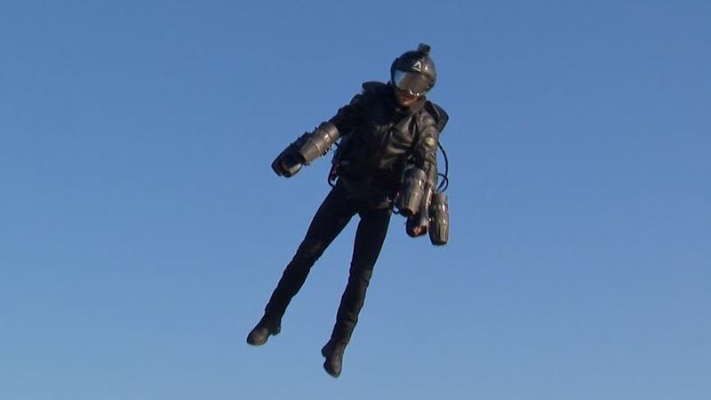 Jet suit creator powers towards racing series