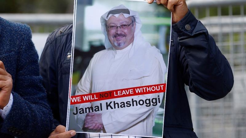 Blank column marks Saudi writer's disappearance