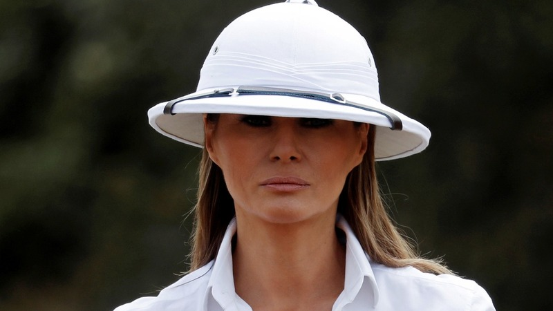 VERBATIM  First Lady responds to  Colonial  hat criticism - Reuters TV 611fee297f9