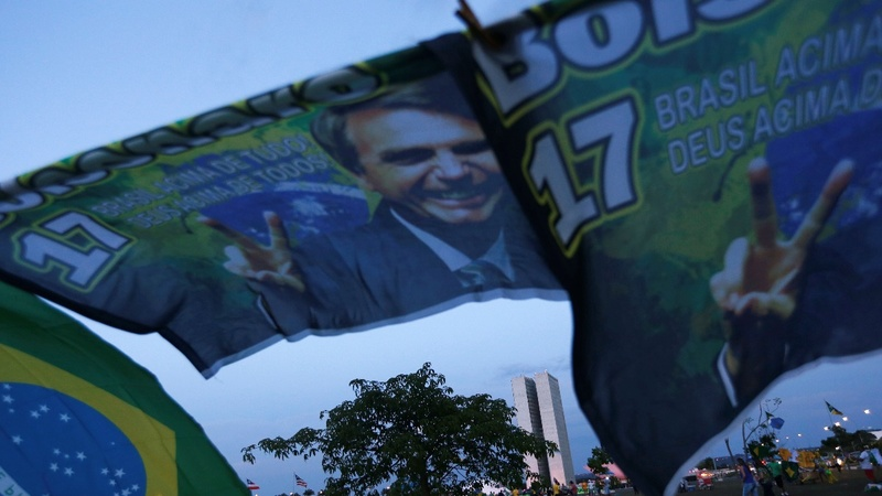 Brazil election: right-winger wins first round