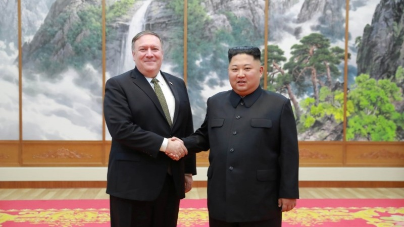 Kim Jong Un calls Pompeo talks 'wonderful'