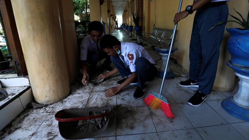 Indonesia restarts schools in disaster zone