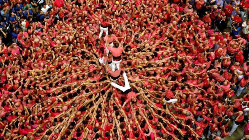 INSIGHT: Catalonia's human tower contest