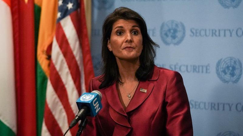 U.N. Ambassador Nikki Haley resigns