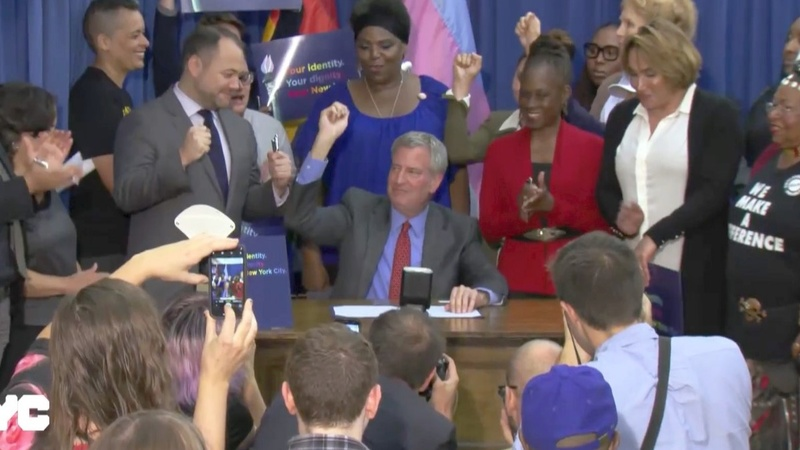NYC allows 'X' gender option on birth certificates