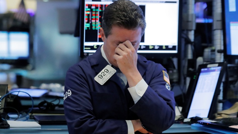 Wall Street gets clobbered for second day