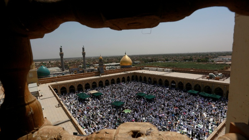 How U.S.-Iran sanctions hit an Iraqi holy city