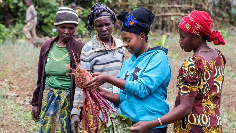 Rwandan entrepreneur turns beetroot into wine