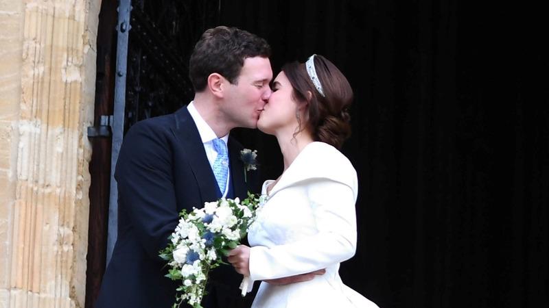INSIGHT: UK's Princess Eugenie ties the knot