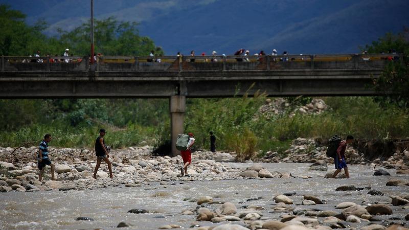 Venezuelan migrants struggle abroad
