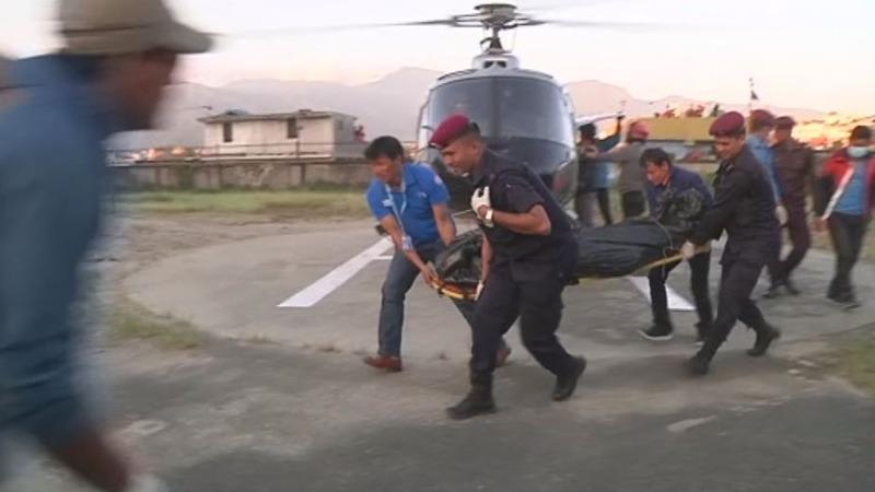 Nine killed after storm hits Nepal's Himalayas