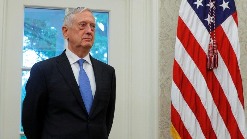 VERBATIM: Trump says Mattis 'may leave'