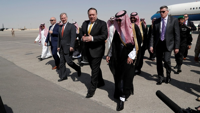 Trump sends Pompeo to Riyadh over Khashoggi