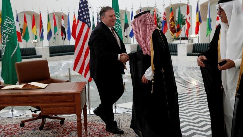 Pompeo meets Saudi king on Khashoggi case