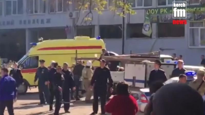 21 dead in gun and bomb attack at Crimean college