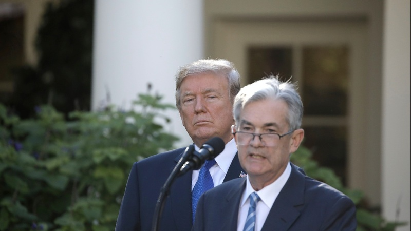 Trump calls Fed his 'biggest threat'